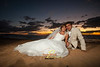 08 Cory and Victoria's sunset session : professional wedding photography on Maui from Trade winds photography